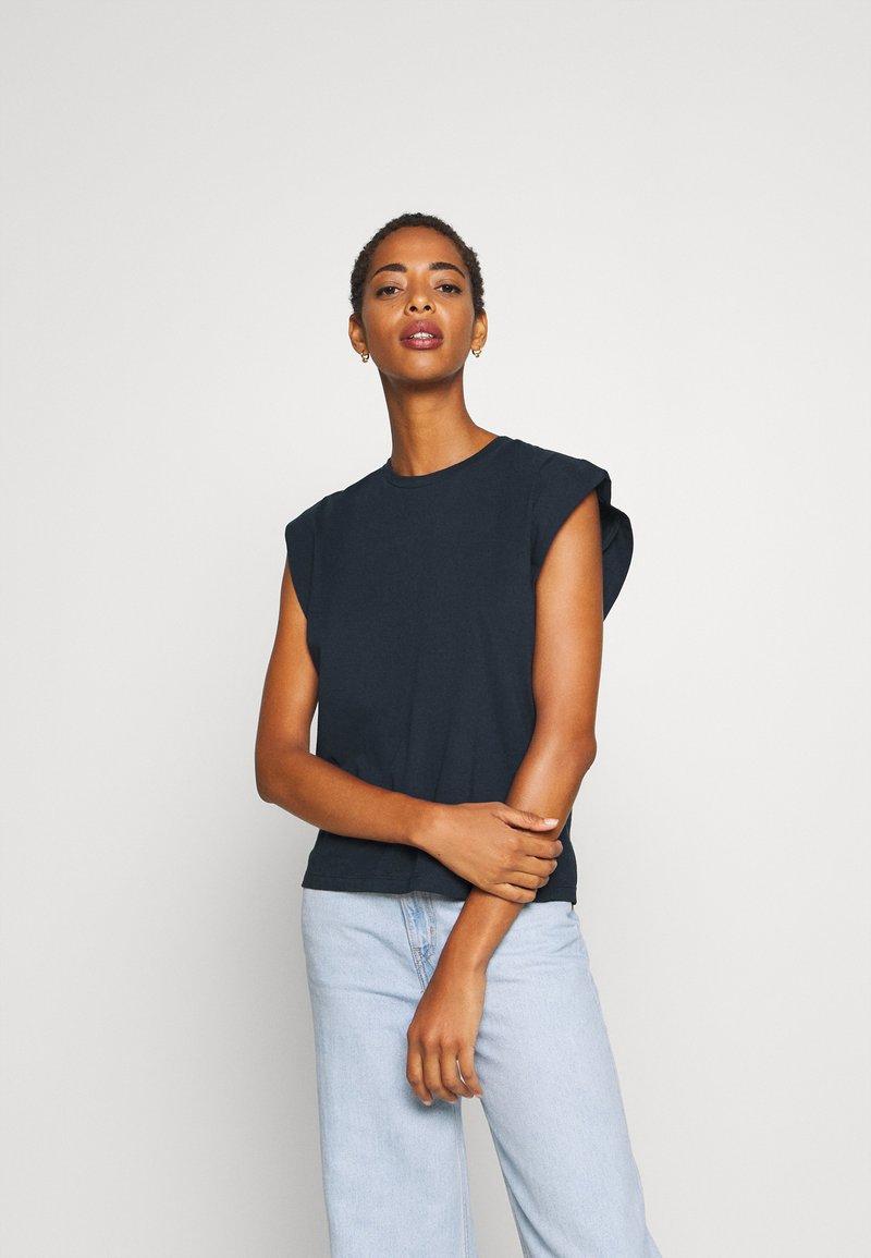 Trendyol - Basic T-shirt - navy