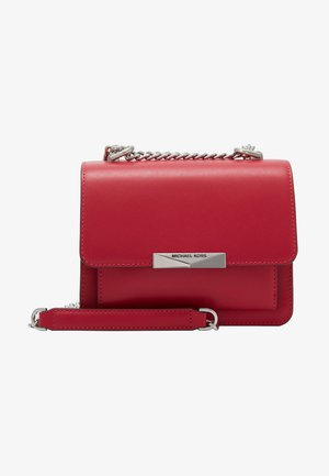 GUSSET CROSSBODY KING - Across body bag - raspberry