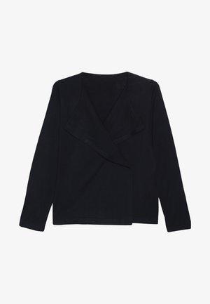 Strikjakke /Cardigans - black iris