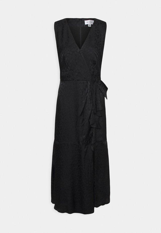 FONTINE CHEETAH DRESS - Hverdagskjoler - black