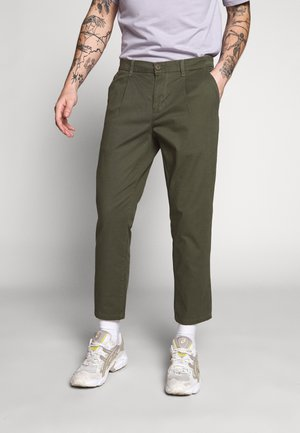 ONSCAM CROPPED - Pantalones chinos - olive night