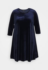 CAPSULE by Simply Be - SWING DRESS - Day dress - navy - 0