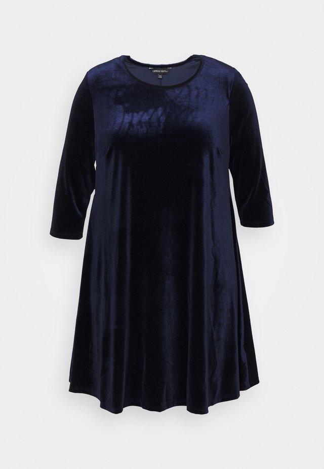 SWING DRESS - Day dress - navy