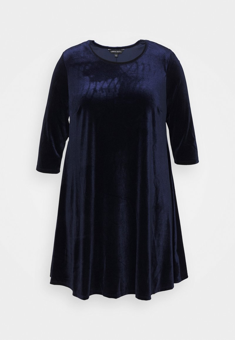 CAPSULE by Simply Be - SWING DRESS - Day dress - navy