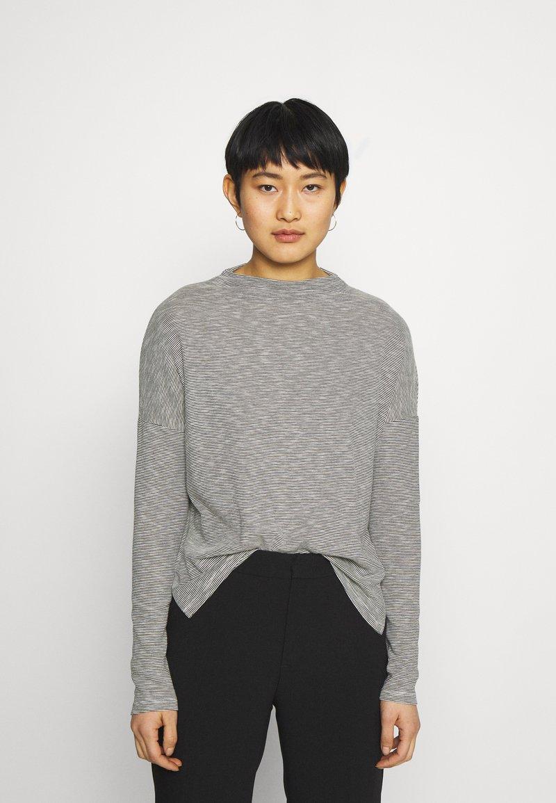 Opus - SIKELE - Long sleeved top - black
