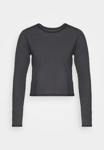 VINTAGE TIE BACK - Langarmshirt - black