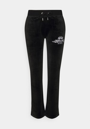 ANNIVERSARY CREST TRACK PANTS - Trainingsbroek - black