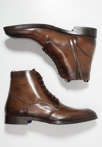 Giorgio 1958 - Šněrovací kotníkové boty - brown - 1