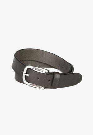 Gürtel business - dark grey