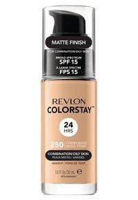 Revlon - COLORSTAY MAKE-UP FOUNDATION FOR OILY/COMBINATION SKIN - Foundation - N°250 fresh beige - 1