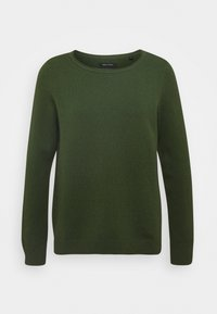 Marc O'Polo - LONGSLEEVE BASIC WITH ROUNDNECK - Jumper - lush pine - 4