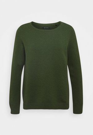LONGSLEEVE BASIC WITH ROUNDNECK - Pullover - lush pine