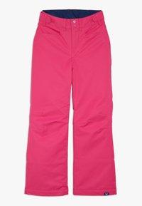 Roxy - BACKYARD  - Snow pants - beetroot pink - 0