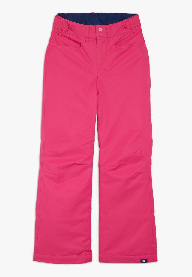 BACKYARD  - Snow pants - beetroot pink
