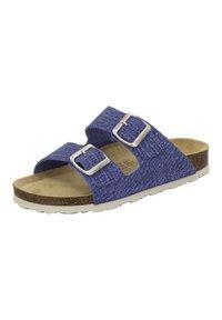 AFS Schuhe - ZWEISCHNALLER - Slippers - jeans - 2