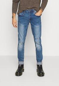 Redefined Rebel - STOCKHOLM DESTROY - Slim fit jeans - nova blue - 0