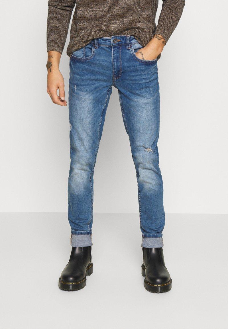 Redefined Rebel - STOCKHOLM DESTROY - Slim fit jeans - nova blue