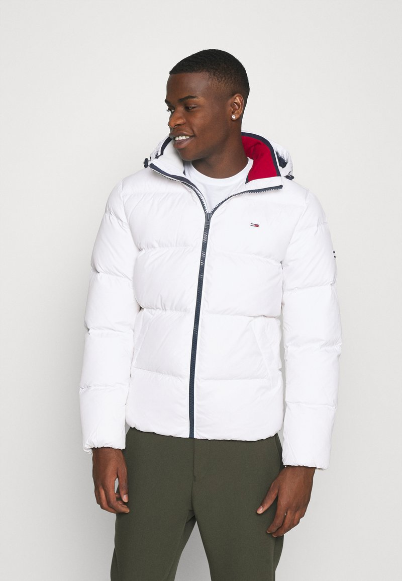 Tommy Jeans - ESSENTIAL JACKET - Winter jacket - white