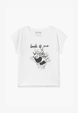 TEEN GIRL  - Print T-shirt - white