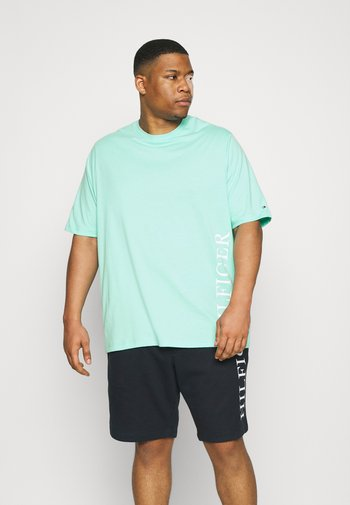 SMALL LOGO TEE - Print T-shirt - green