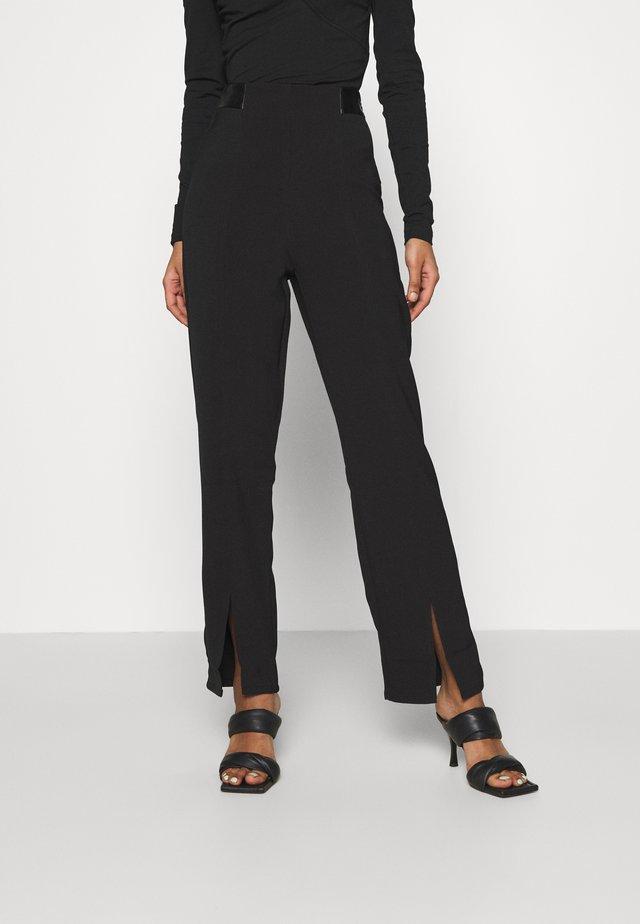 ELLA TROUSER - Pantalon classique - black