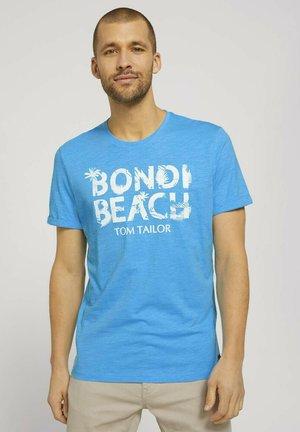 T-shirt con stampa - aquarius turquoise