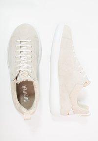 Camper - PELOTAS CAPSULE XL - Volnočasové šněrovací boty - light beige - 1