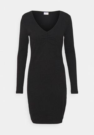 VIFELIA DRESS - Žerzejové šaty - black