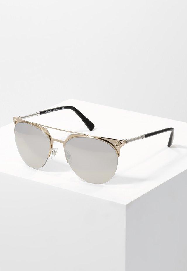 Solbriller - gold/light grey/silver