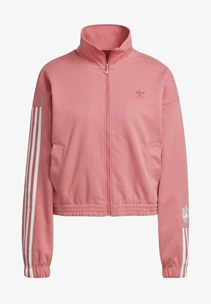 Training jacket - hazy rose