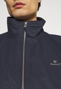 GANT - HAMPSHIRE JACKET - Summer jacket - evening blue - 6