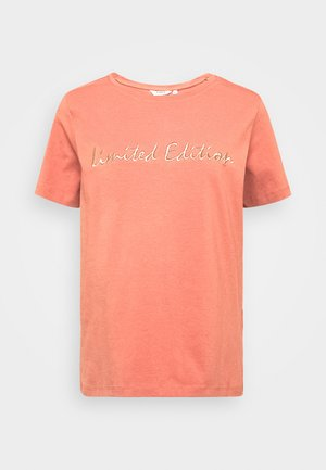 BYPANDINA - T-shirt imprimé - canyon rose