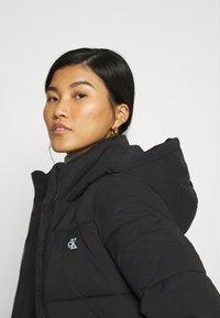 Calvin Klein Jeans - PEACHED LONG PUFFER - Winter coat - black - 3