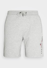 Tommy Hilfiger - ESSENTIAL - Shorts - medium grey heather - 6