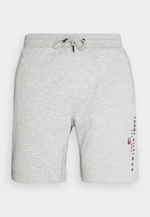 ESSENTIAL - Szorty - medium grey heather