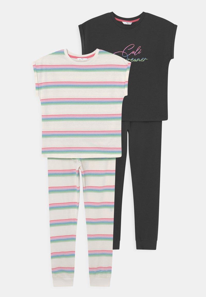 Marks & Spencer London - RAINBOW 2 PACK - Pyjama set - multi-coloured