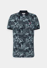 Pier One - FLORAL - Poloshirts - dark blue - 4