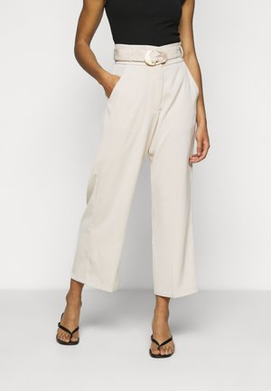 ELLORA TROUSER - Trousers - cream