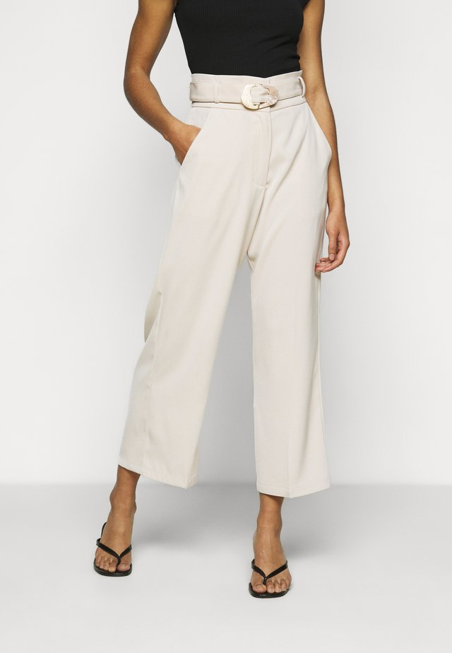 ELLORA TROUSER - Broek - cream