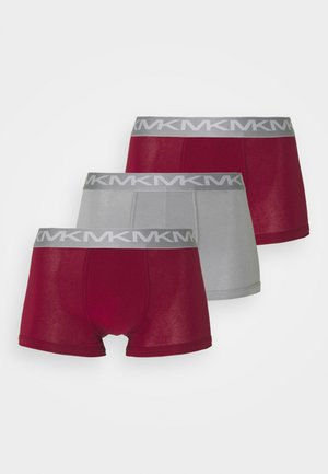 FASHION TRUNK 3 PACK - Boxerky - pink peacock