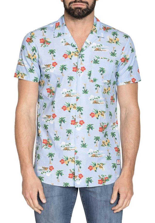 Camicia - azzurro/multicolore