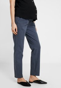 MAMALICIOUS - MLPLAYA PANTS - Trousers - ombre blue - 0