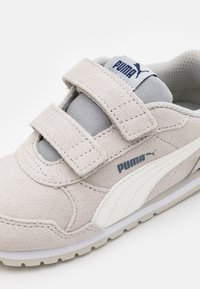 Puma - ST RUNNER V2 SD - Trainers - gray violet/whisper white/black/white - 5