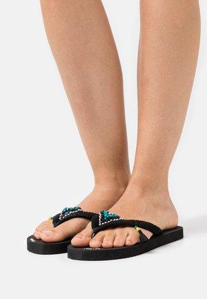 ORIGINALS TRIANGLE - T-bar sandals - black