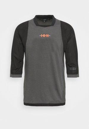 TEE 3/4 SCRUB - T-shirt à manches longues - black