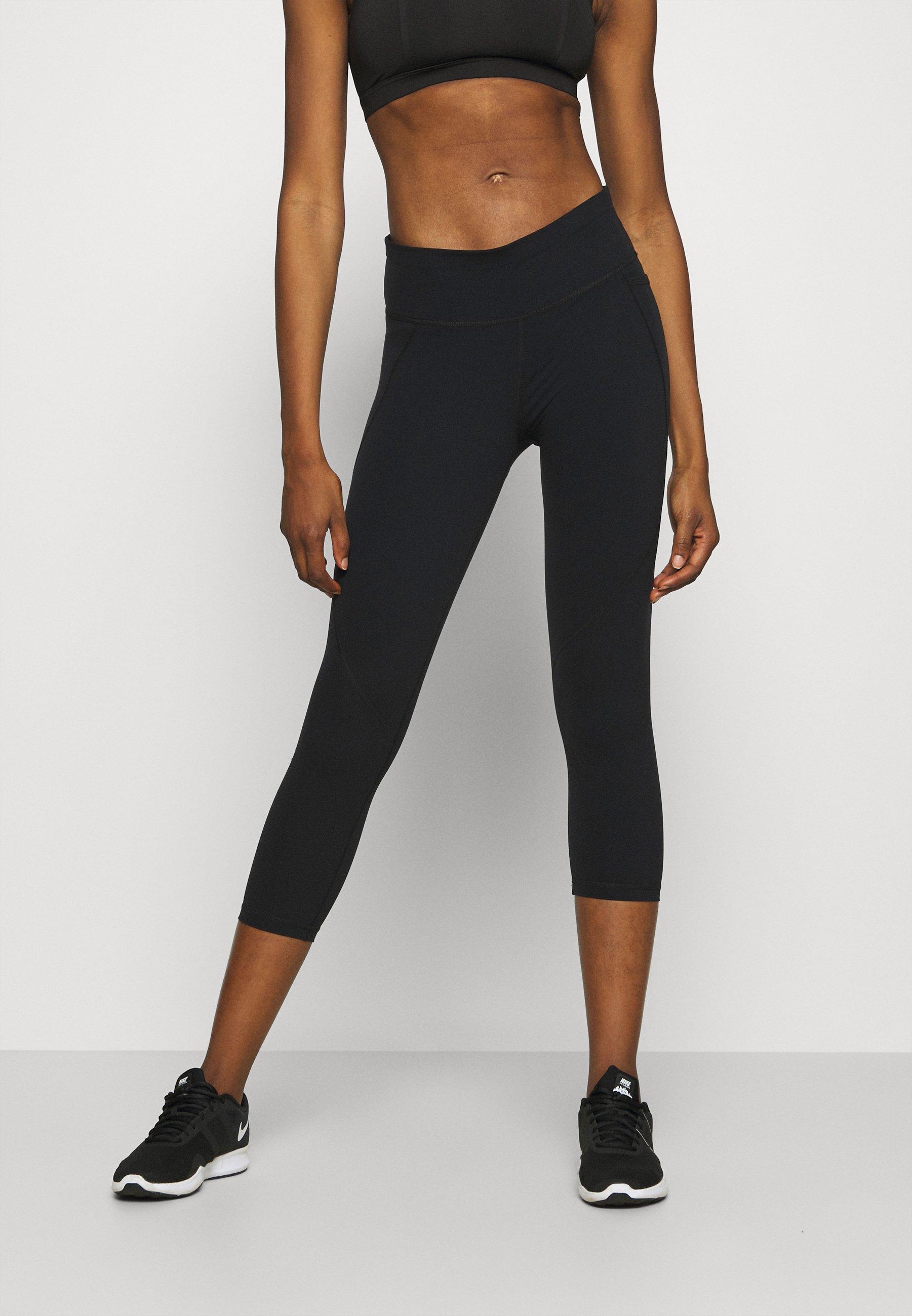Femme POWER CROP WORKOUT LEGGINGS - Collants