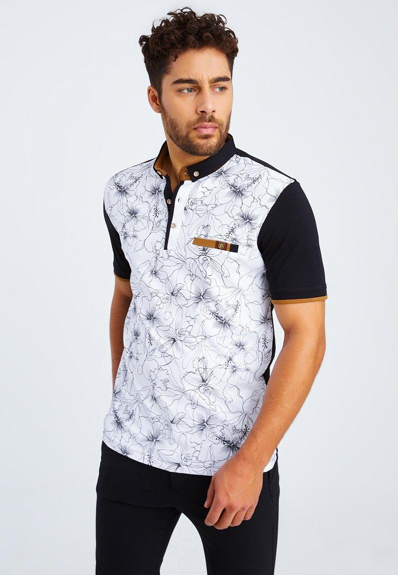 Leif Nelson - Polo shirt - schwarz