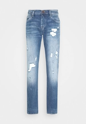 NEW ROCCO DESTROYED - Straight leg jeans - light blue