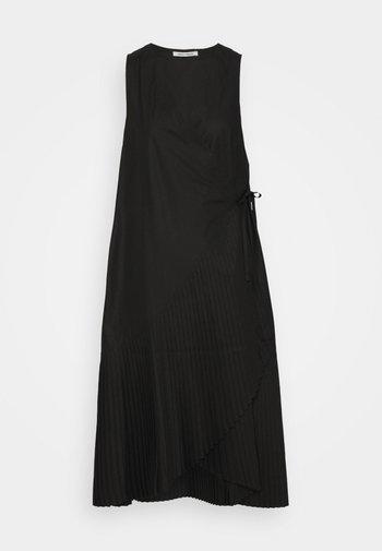 BLAZE DRESS PLISSÉ - Vestido informal - black