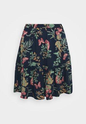 VMSIMPLY EASY SHORT SKIRT - Mini skirt - navy blazer